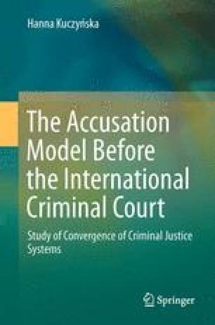 Judicial Control Of An Accusation SpringerLink