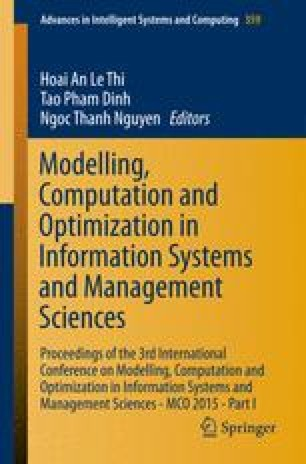 Modelling, Computation and Optimization in Information Systems and Management Sciences