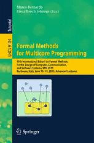 Formal Methods for Multicore Programming