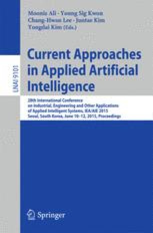 Current Approaches in Applied Artificial Intelligence