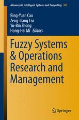 Fuzzy Systems & Operations Research and Management