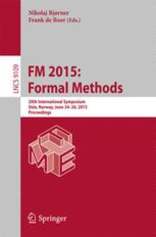 FM 2015: Formal Methods