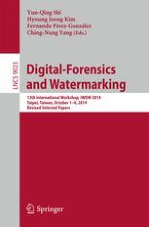 Digital-Forensics and Watermarking