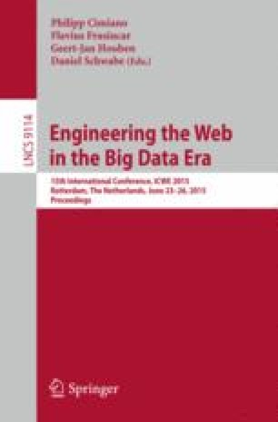 Engineering the Web in the Big Data Era