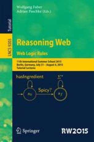 Reasoning Web. Web Logic Rules
