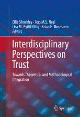 "The ""Dark Side"" of Institutional Trust | SpringerLink"