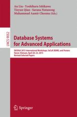 Database Systems for Advanced Applications
