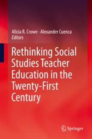 From Non-racism to Anti-racism in Social Studies Teacher Education ...