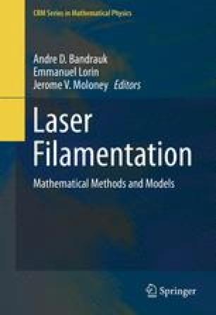 Laser Filamentation