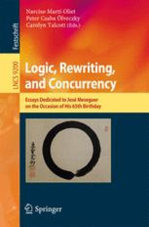 Logic, Rewriting, and Concurrency