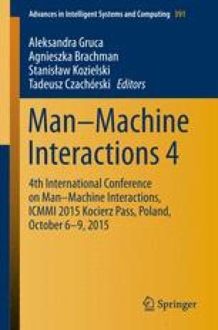 Man–Machine Interactions 4