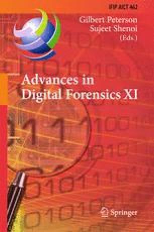 Advances in Digital Forensics XI