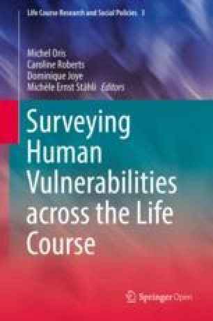 Surveying Human Vulnerabilities across the Life Course