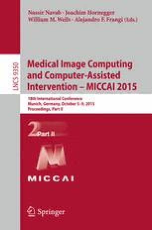 Medical Image Computing and Computer-Assisted Intervention -- MICCAI 2015