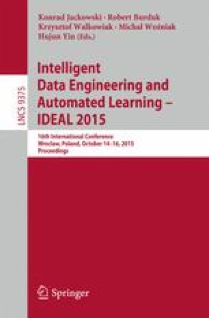 Intelligent Data Engineering and Automated Learning – IDEAL 2015