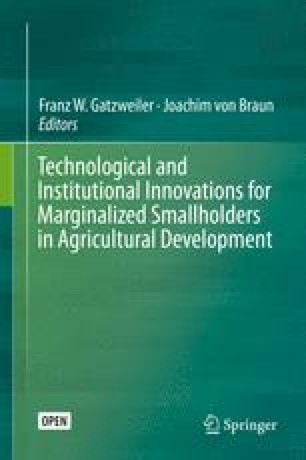 Technological and Institutional Innovations for Marginalized Smallholders in Agricultural Development