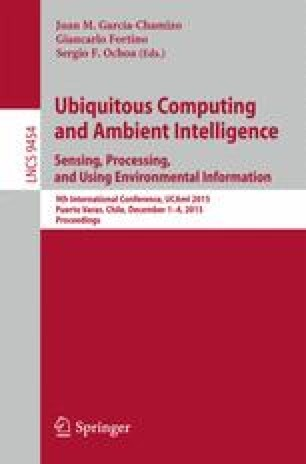 Ubiquitous Computing and Ambient Intelligence. Sensing, Processing, and Using Environmental Information