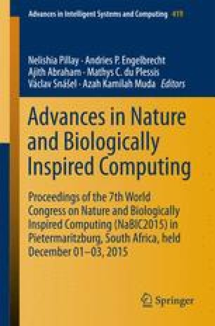 Advances in Nature and Biologically Inspired Computing