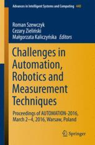 Challenges in Automation, Robotics and Measurement Techniques