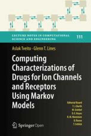 Computing Characterizations of Drugs for Ion Channels and Receptors Using Markov Models