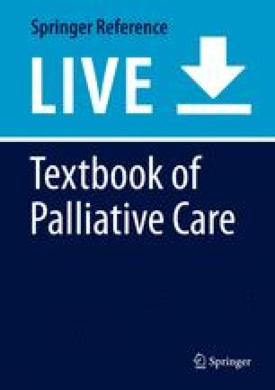 Textbook of Palliative Care