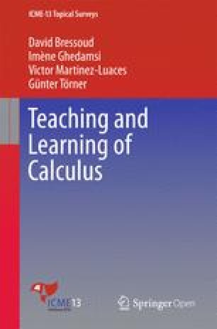 Teaching and Learning of Calculus | SpringerLink