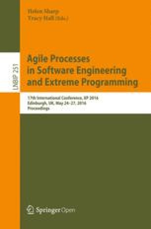Agile Processes, in Software Engineering, and Extreme Programming