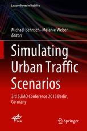 Simulating Urban Traffic Scenarios