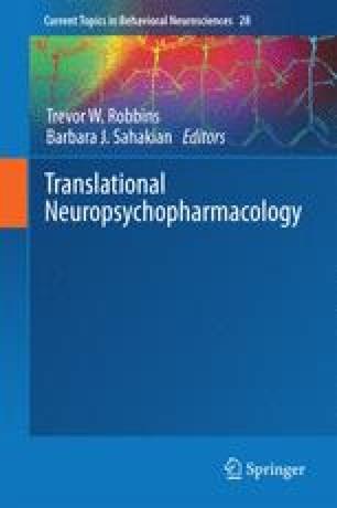 Translational Neuropsychopharmacology