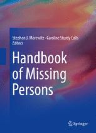 Missing Persons in Croatia: Incidence, Characteristics and Police ...