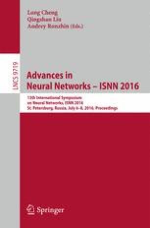 Advances in Neural Networks – ISNN 2016