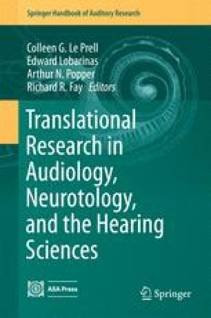 Translational Research in Audiology, Neurotology, and the Hearing Sciences