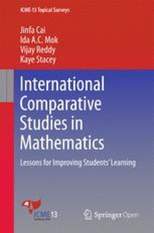 International Comparative Studies in Mathematics: Lessons