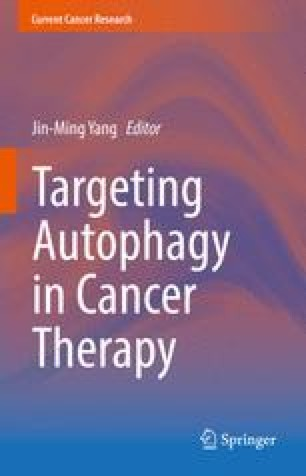 Targeting Autophagy in Cancer Therapy
