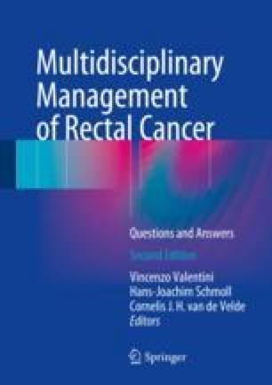 Multidisciplinary Management of Rectal Cancer