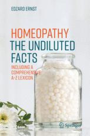 Lexicon of Homeopathy | SpringerLink