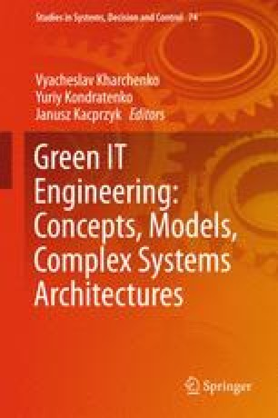 Green IT Engineering: Concepts, Models, Complex Systems Architectures