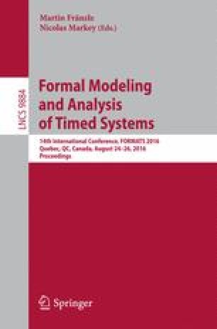 Formal Modeling and Analysis of Timed Systems