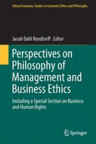 Perspectives on Philosophy of Management and Business Ethics