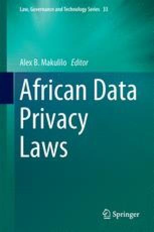 data protection in kenya springerlink