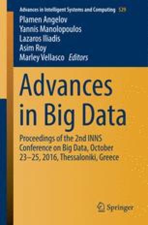 Advances in Big Data
