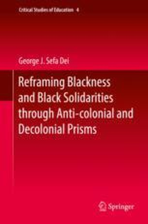Towards a [Re]Theorization of Blackness, Anti-Blackness, and Black ...