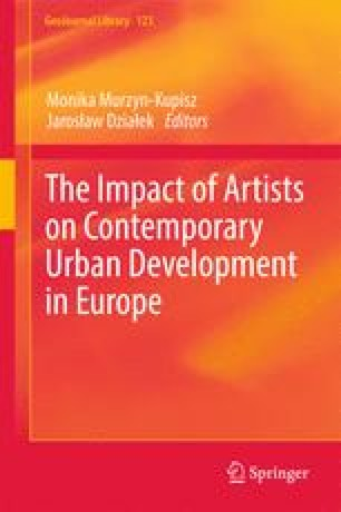 The Impact of Artists on Contemporary Urban Development in Europe