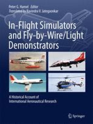 In-Flight Simulators and Fly-by-Wire/Light Demonstrators
