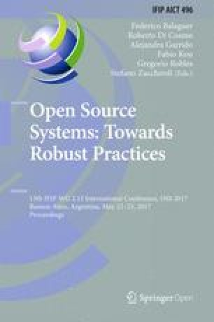 Open Source Systems: Towards Robust Practices