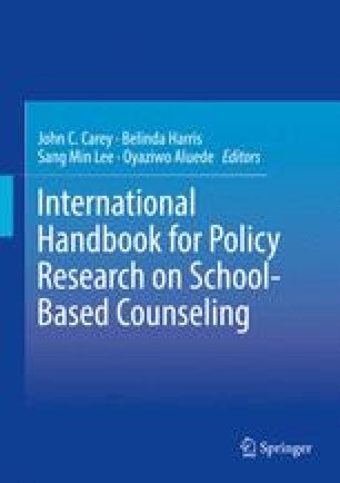 International Handbook for Policy Research on School-Based Counseling