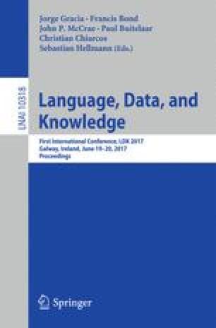 Language, Data, and Knowledge