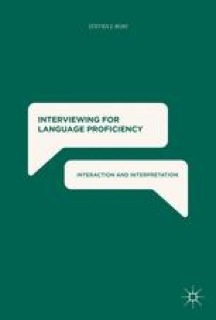 Language Proficiency Interviews and the Assessment of