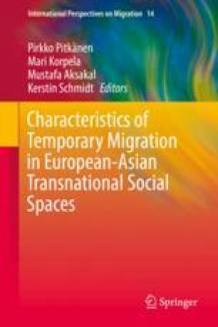 Introduction: Temporary Migration in European-Asian Social