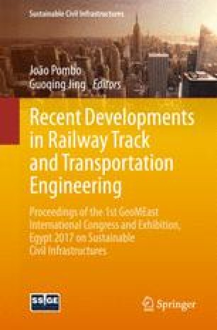 Experimental and Numerical Behavior of Railway Track Over Geogrid ...